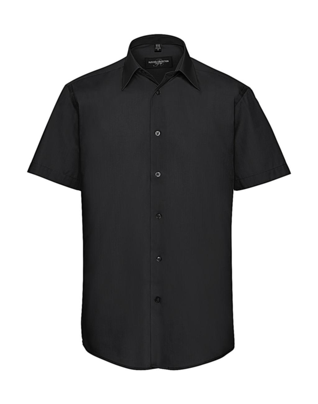 Pánská košile Poplin s krátkým rukávem - zvìtšit obrázek