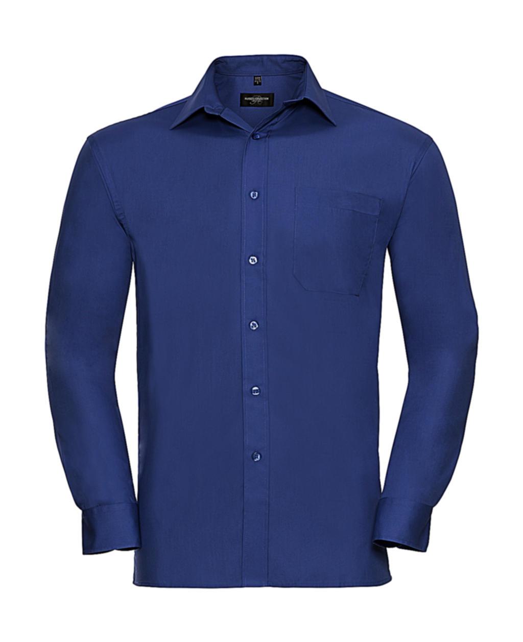 Košile z popelínu s dlouhým rukávem - zvìtšit obrázek