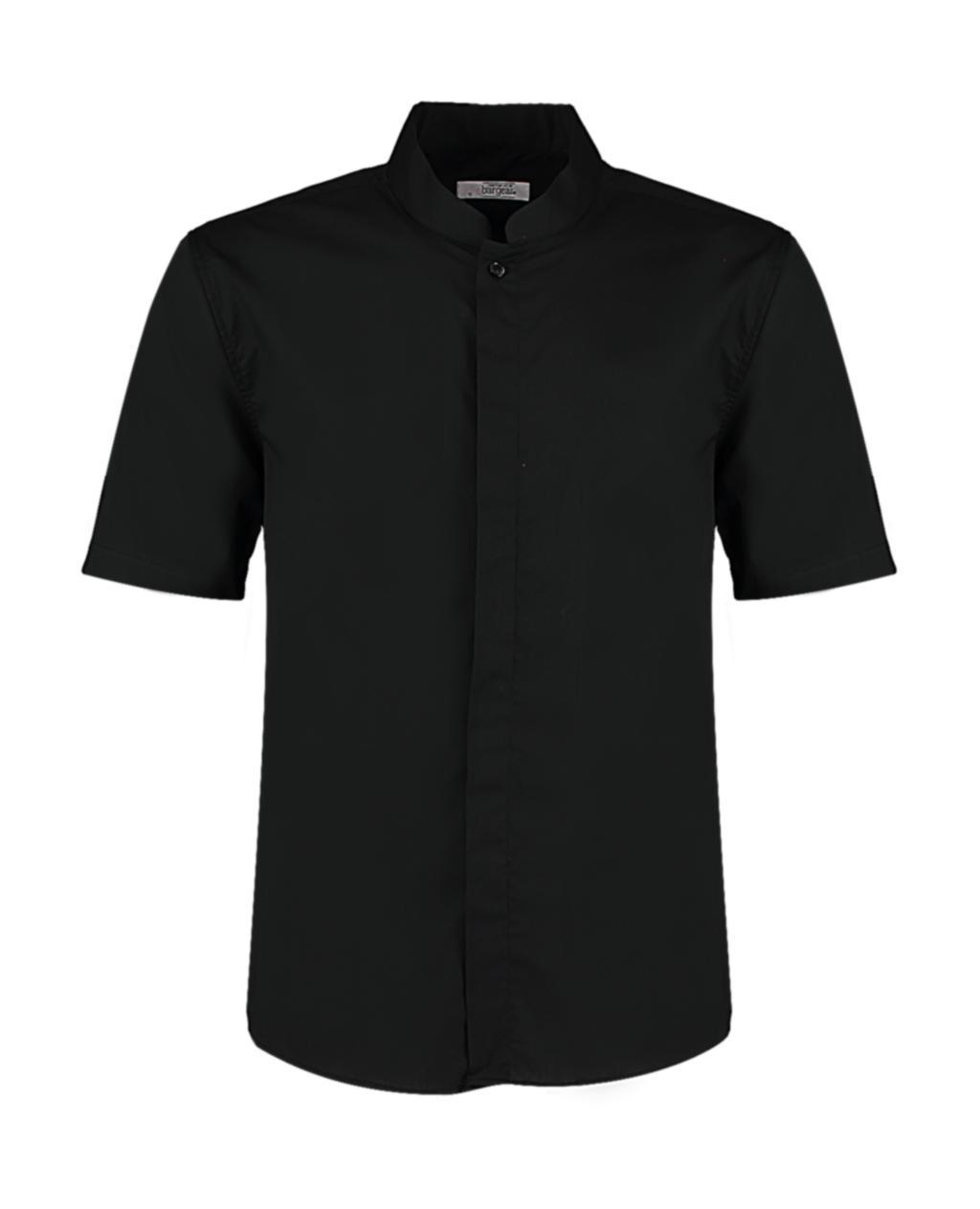 Košile Mandarin Collar Tailored fit s kr. ruk. - zvìtšit obrázek