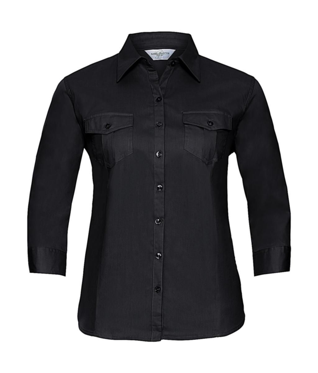 Dámská košile Roll Sleeve s 3/4 rukávy - zvìtšit obrázek