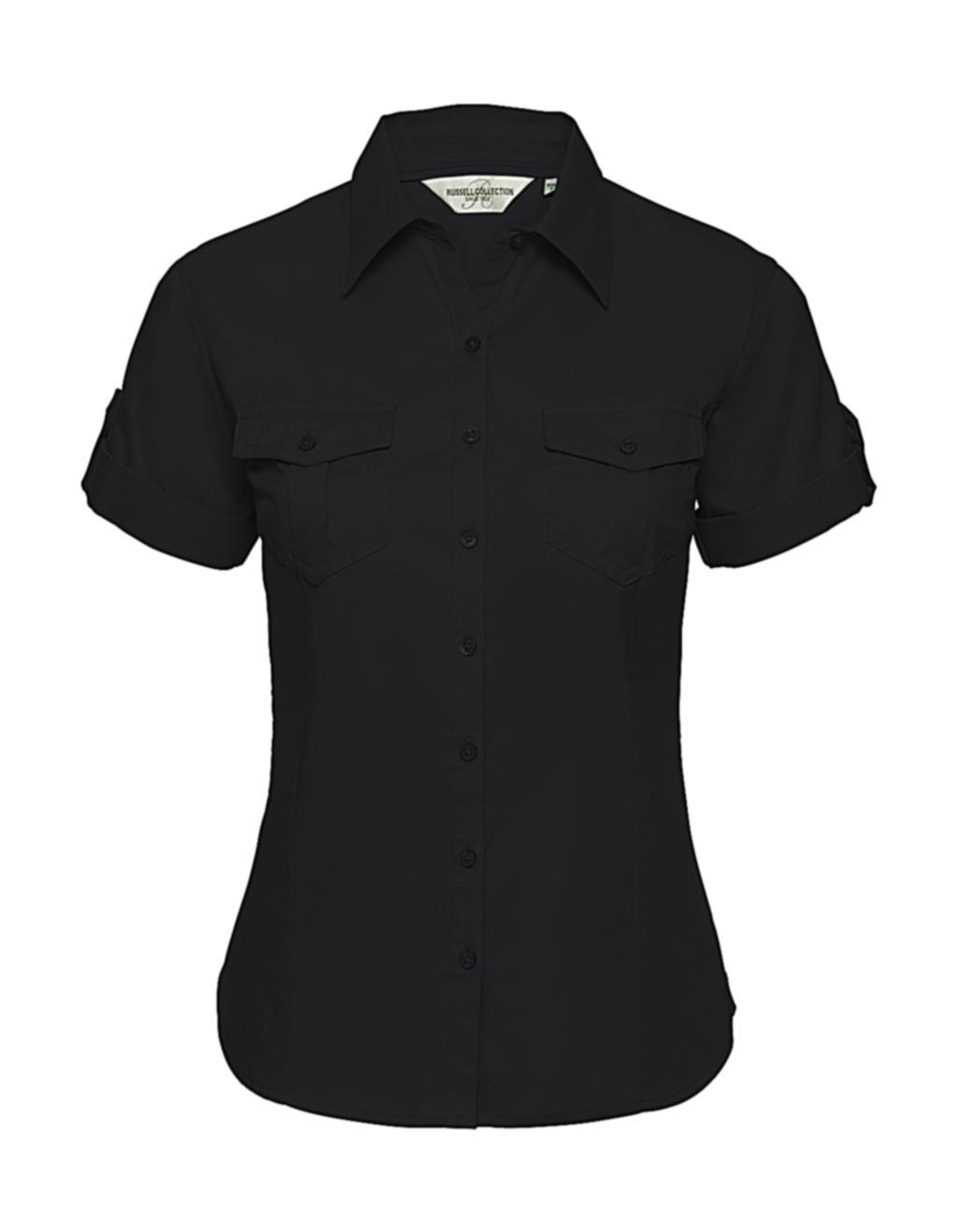 Dámská košile Roll Sleeve s krátkými rukávy - zvìtšit obrázek