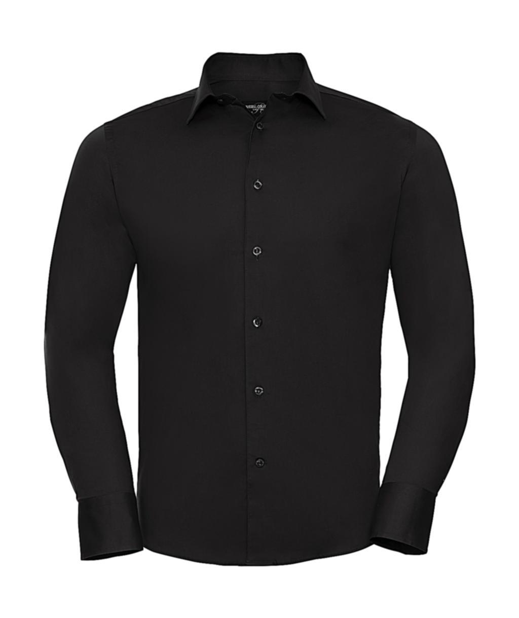 Vypasovaná košile Stretch s dlouhým rukávem - zvìtšit obrázek