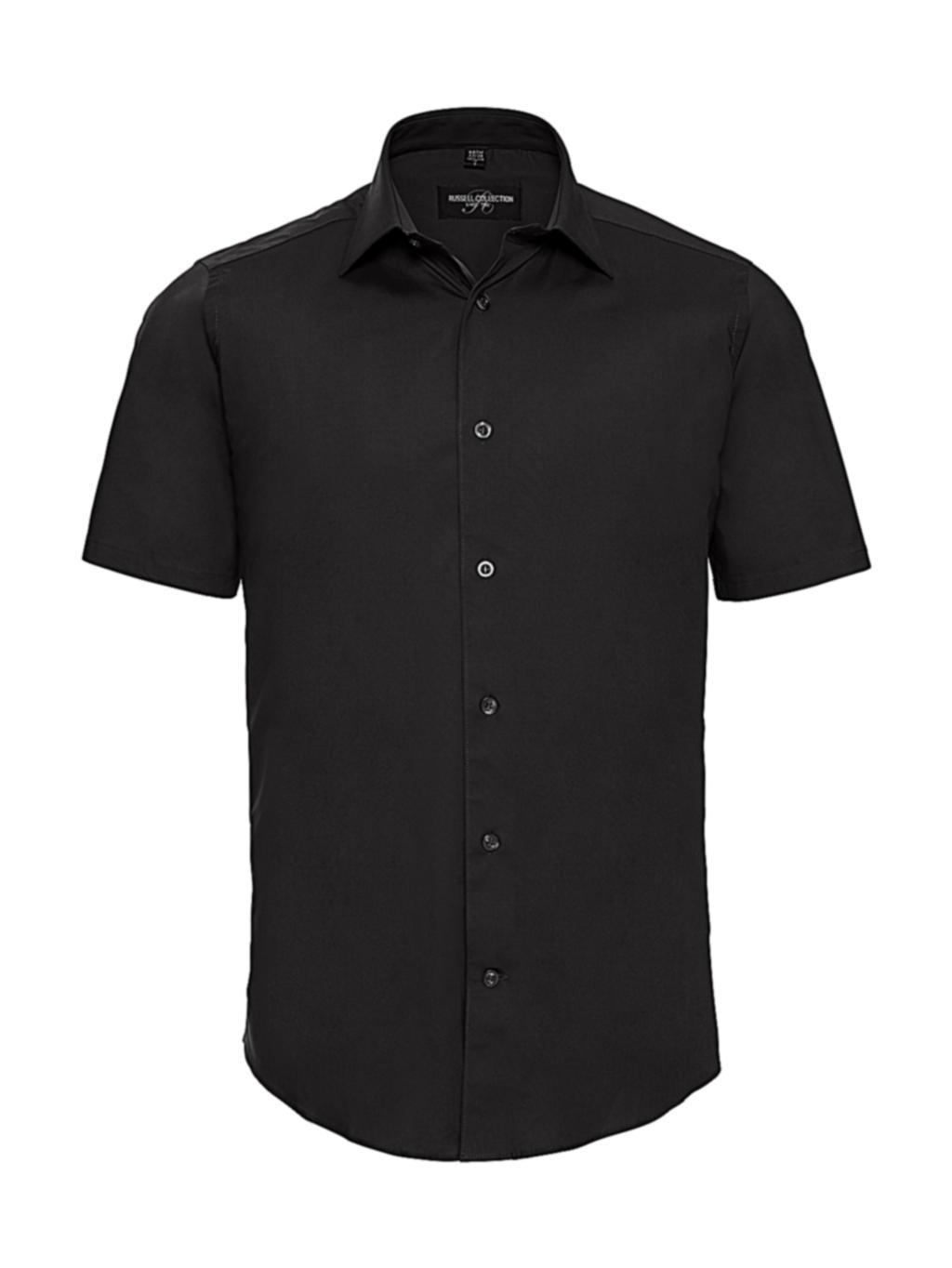 Vypasovaná košile s krátkým rukávem - zvìtšit obrázek
