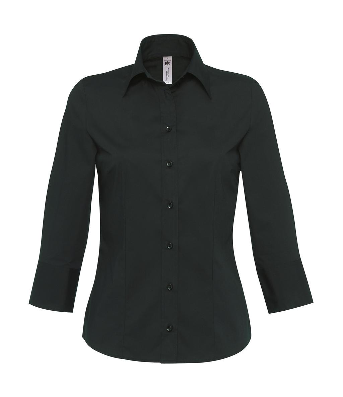 Halenka s 3/4 rukávy Milano/women Popelin Shirt - zvìtšit obrázek