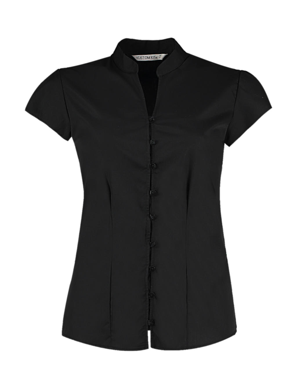 Dámská košile Mandarin Tailored fit s kr. ruk. - zvìtšit obrázek