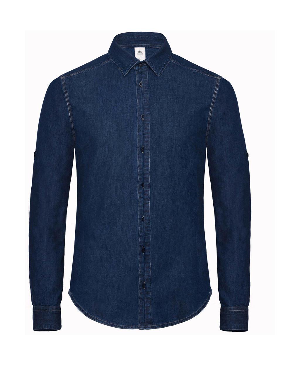 Košile s dlouhým rukávem DNM Vision/men Denim - zvìtšit obrázek