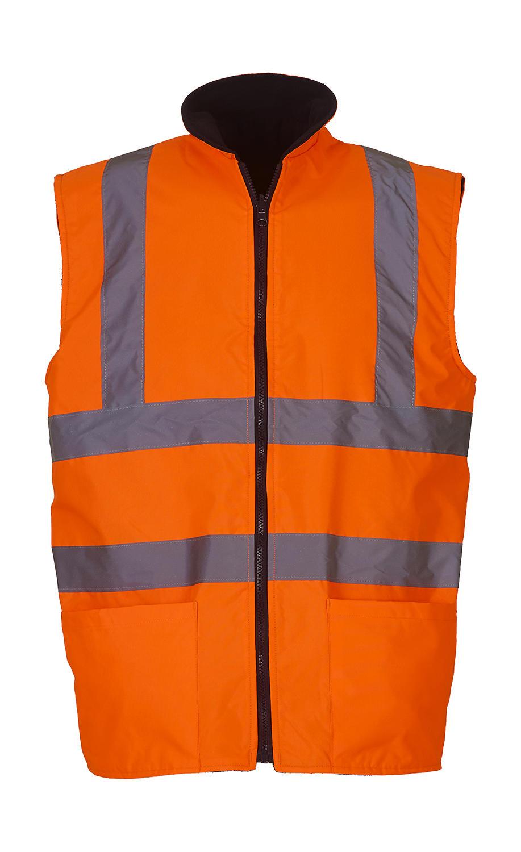 Oboustranná vesta Fluo Fleece - zvìtšit obrázek