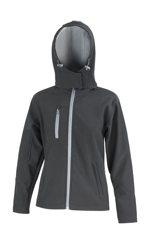 Dámská TX Performance Softshell bunda s kapucí - zvìtšit obrázek