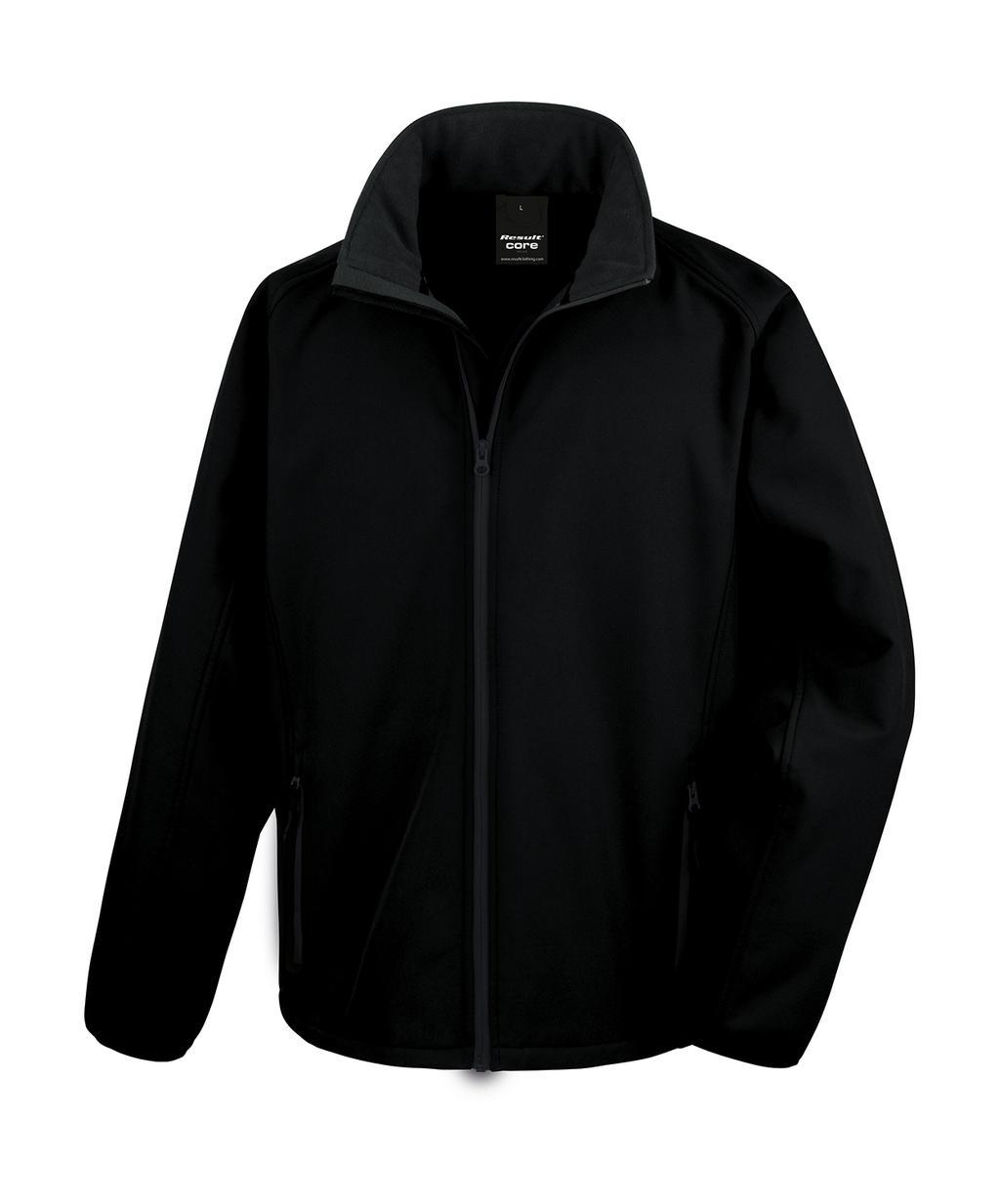 Potisknutelná Softshell bunda - zvìtšit obrázek