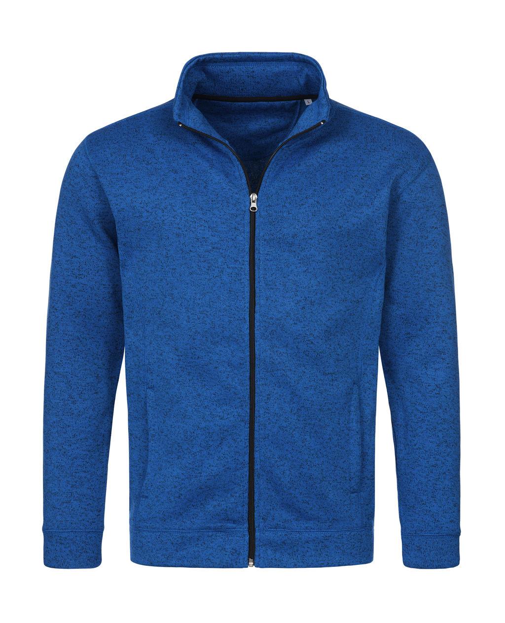 Pánská pletená fleece bunda - zvìtšit obrázek