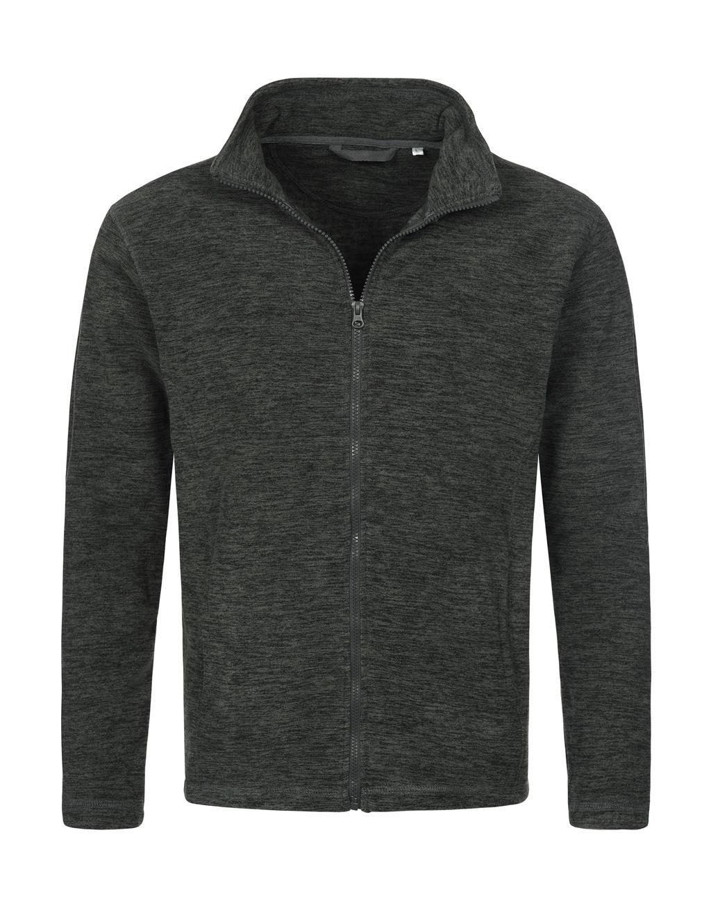 Active Melange Fleece bunda - zvìtšit obrázek