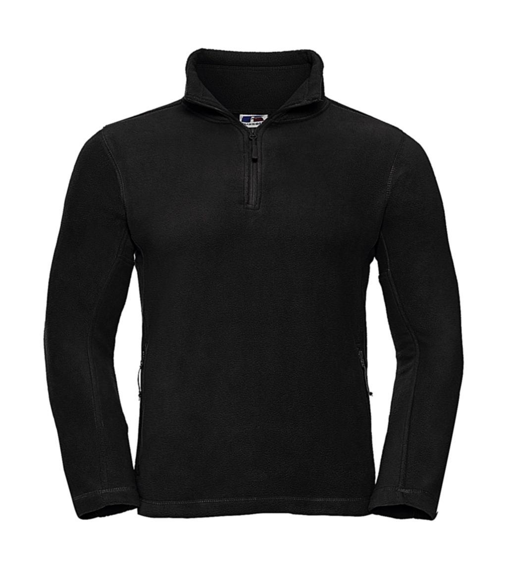 Fleecová bunda s krátkým zipem - zvìtšit obrázek