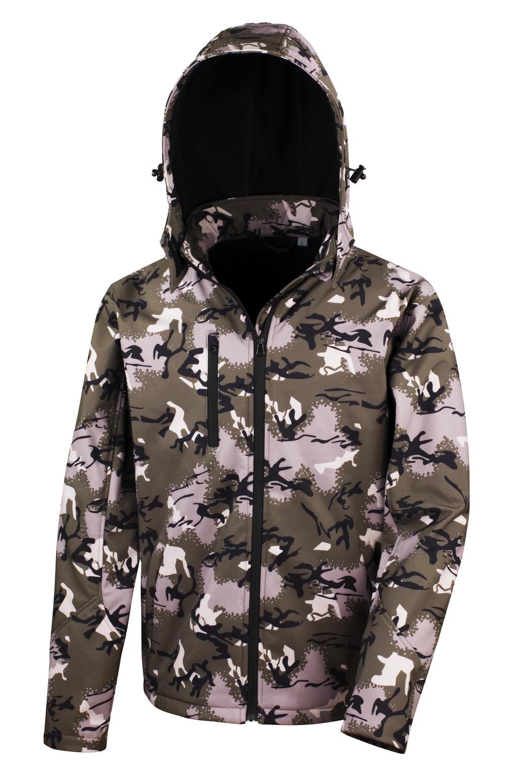 Softshell bunda Camo TX Performance s kapucí - zvìtšit obrázek