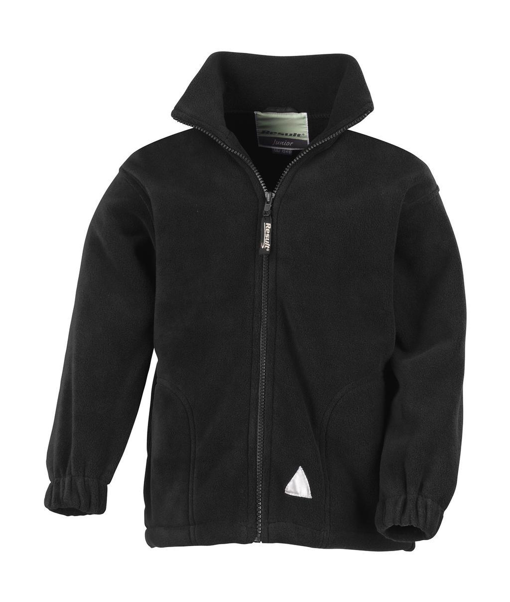 Dìtská fleecová bunda na zip - zvìtšit obrázek