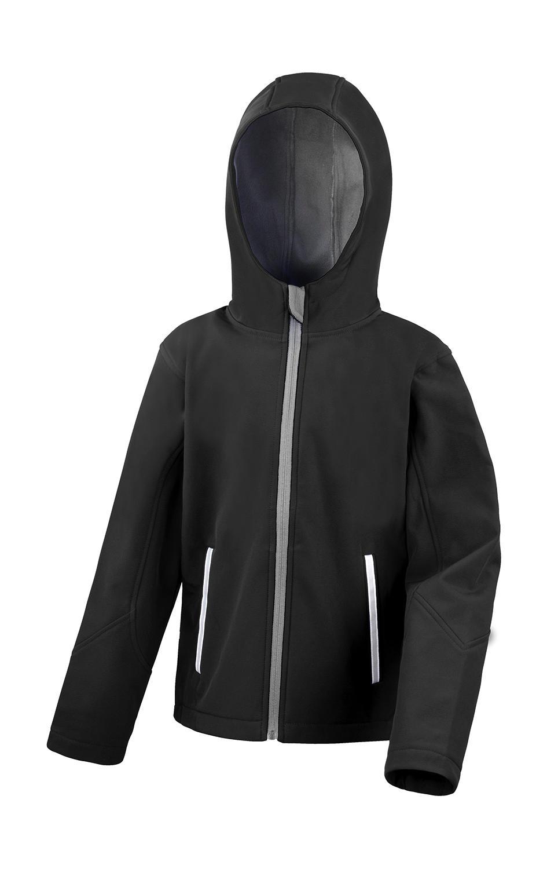 Dìtská TX Performance Softshell bunda s kapucí - zvìtšit obrázek