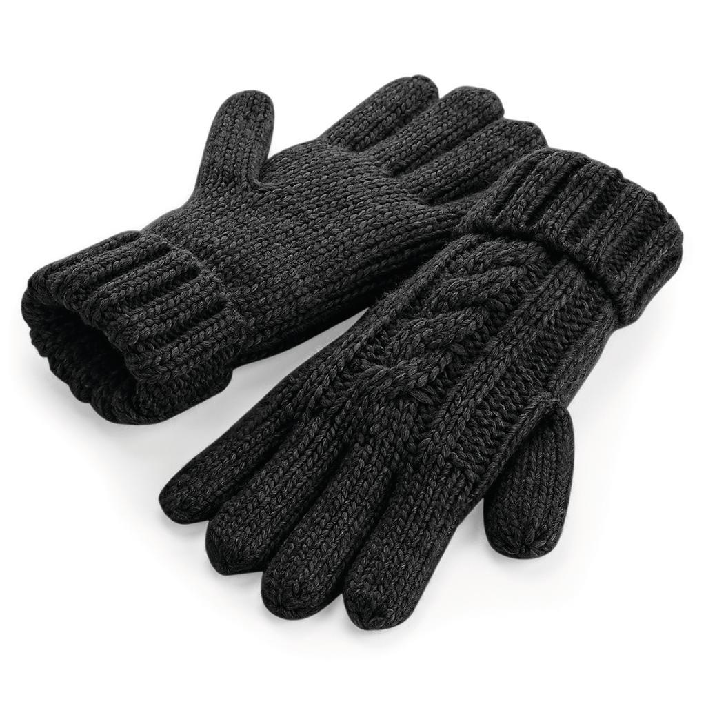 Pletené rukavice Melange - zvìtšit obrázek