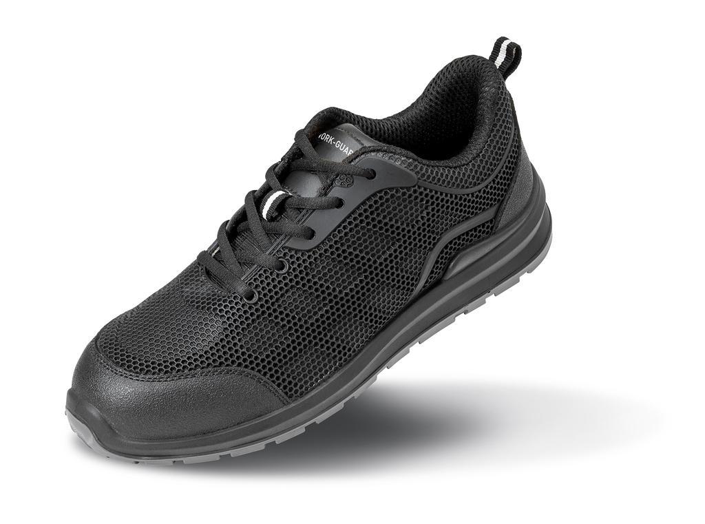 Pracovní tenisky All BlackSafety - velikost bot 3 - zvìtšit obrázek