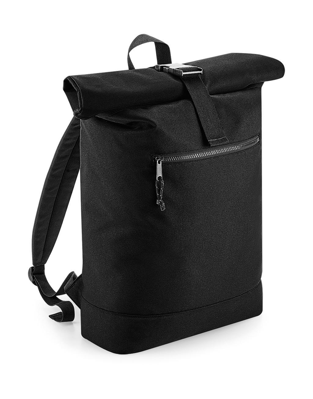 Recycled Roll-Top Backpack - zvìtšit obrázek