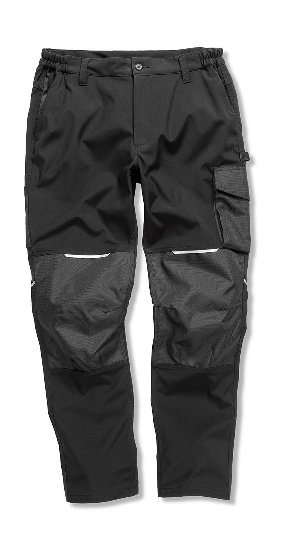Slim Softshell Work Trousers - zvìtšit obrázek